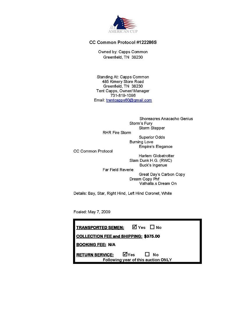 CC Common Protocol