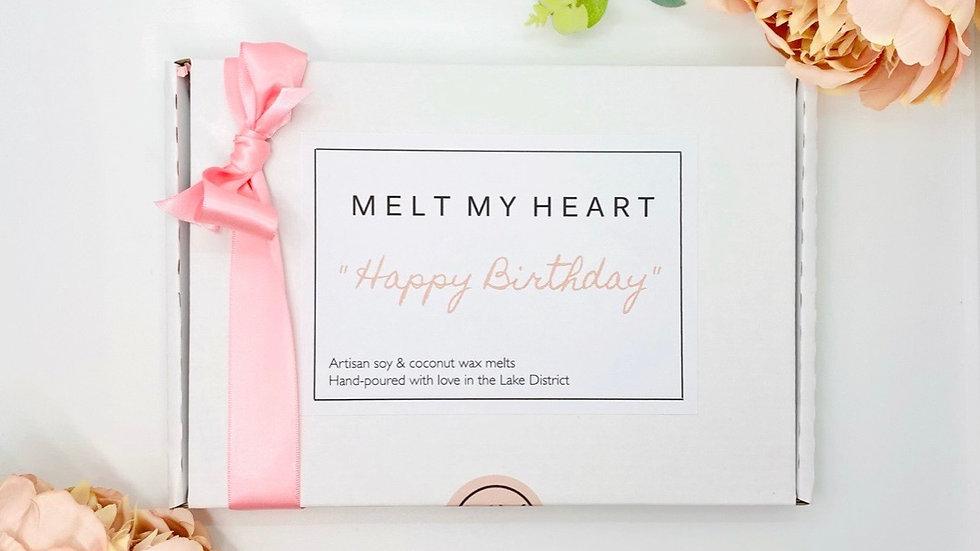 Happy Birthday Wax Melt Box