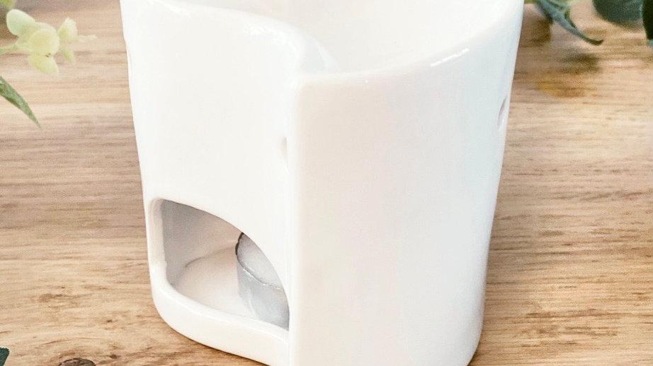 Heart Ceramic Mini Wax Burner