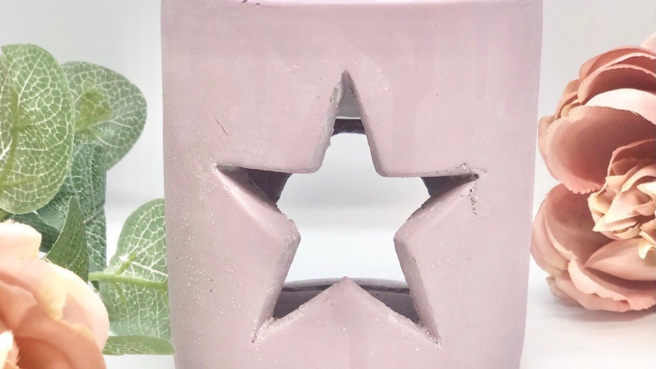 Star Concrete and Ceramic Wax Burner- more colours available