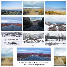 Mono Lakes & SW Colorado