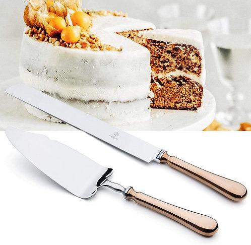 2 Piece Wedding Cake Server