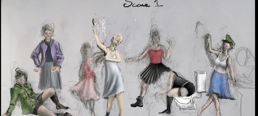 Scene 1 Costume Design