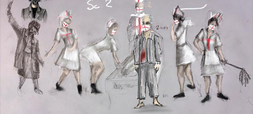 Scene 2 Costume Design