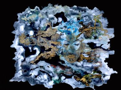 Aquarelle dorure 21x29,7
