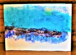 Couverture Papier de riz - Encres - Aquarelle