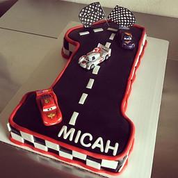 Happy 1st birthday Micah! #birthdaycakes