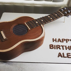 Kala Ukelele Cake 😊🎂❤️ #Kala #Ukelele