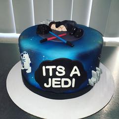 It's a Jedi ✨ #StarWars #BabyShower #Cak