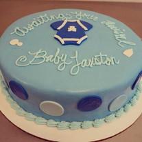 Its a boy baby shower cake 💕 #babyshowe
