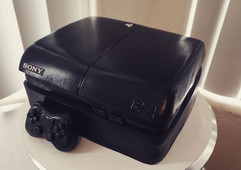 PlayStation Cake 😁 The inside of this c