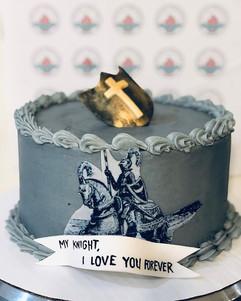 Knight Cake #ValentinesDayEdition #Custo