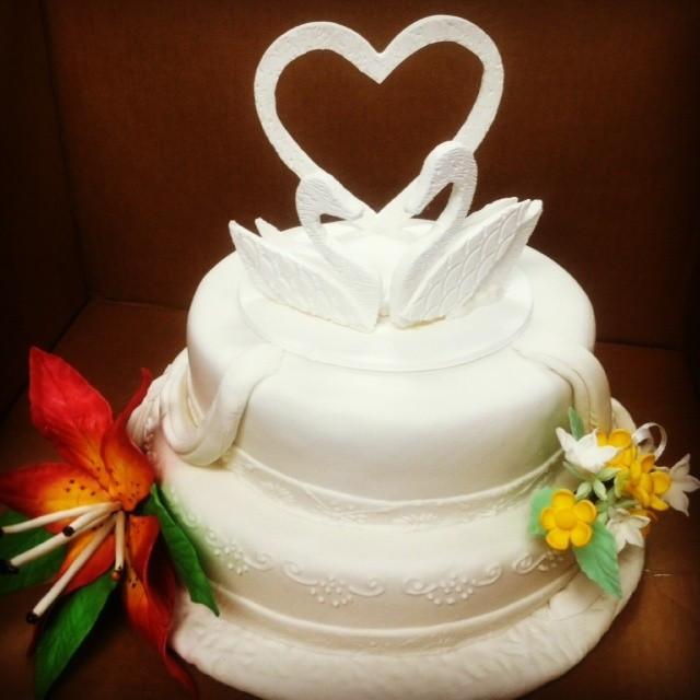 #weddingcake #inspiredbyswarovski #lecor