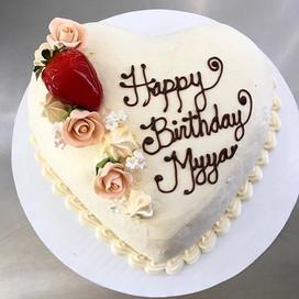 Simple elegant birthday cakes ❤️🎂 #happ