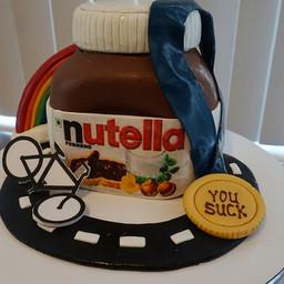 Nutella Cake! You say it, I create it! #