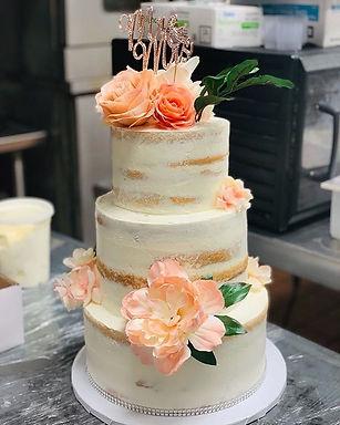 Las Vegas Wedding Cakes! #NakedCake #Flo