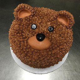I can bear-ly stand how cute this cake i