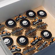 Harley Davidson Custom Cookies #harleyda