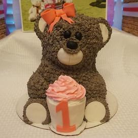 I had a blast making this 3D Teddy Bear