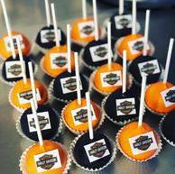 Logo 🤘 #harleydavidson #cakepops #cust