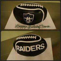 For the fans #raiders #fans #raiderscake