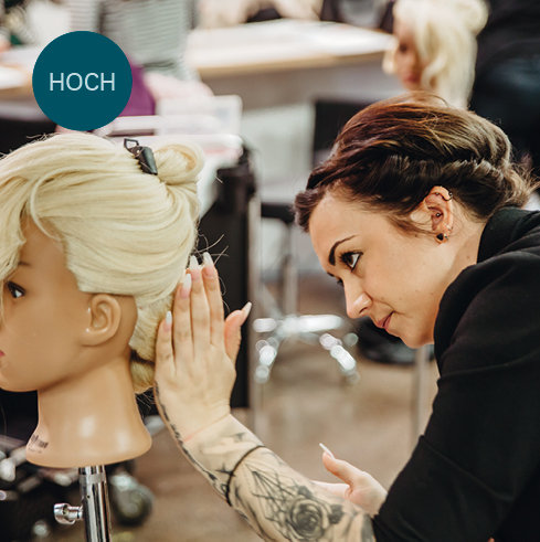 Quick and Modern Updo - by Katja Herget