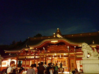 諏訪神社祭り