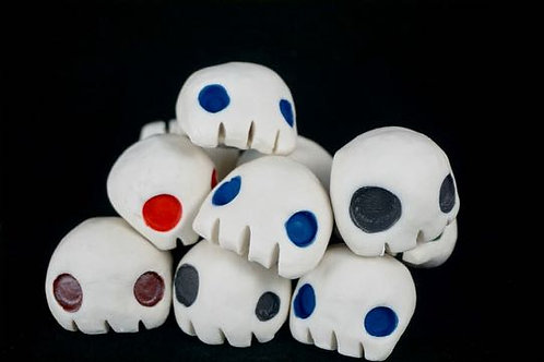 Small porcelain skull