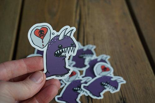 Love Monster Sticker