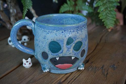 Happy fanged mug Large