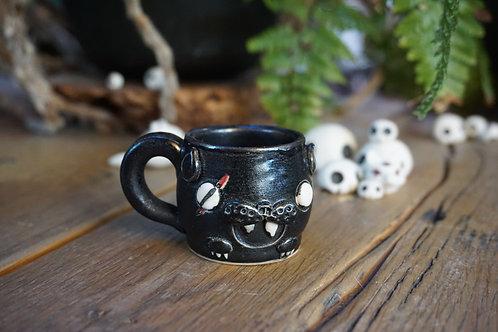 Black Cat Mini Mug
