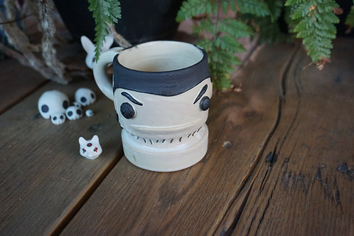 Bride of Frankenstein Cappuccino Cup