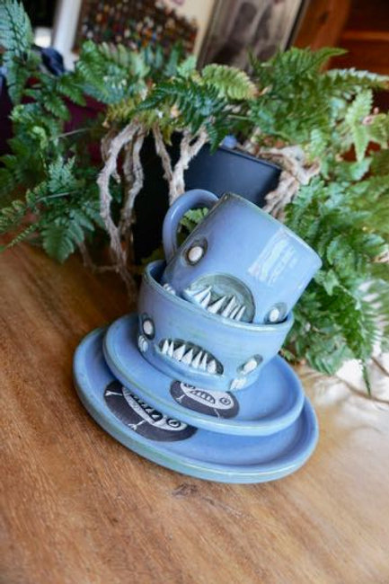 Monster Place setting, 4 peices