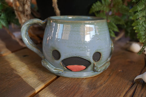 Octopus  mug, now with tongue!