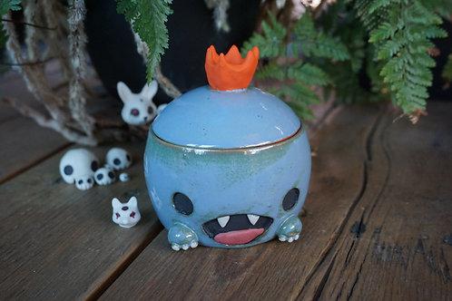 Glazed Royal Desk Demon jar
