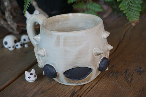 Happy Fugu Fish Mug