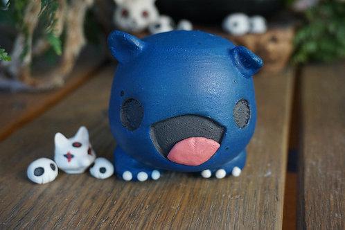 Blue Desk Monster
