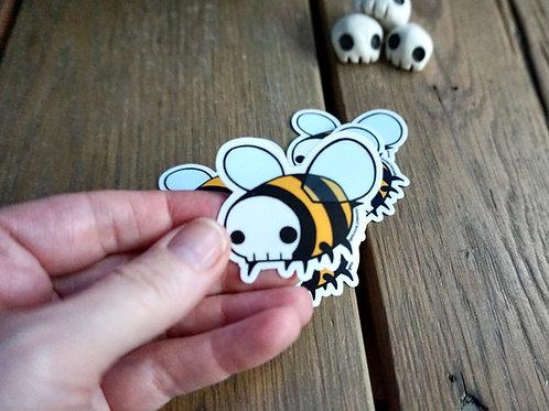 NEWSkull Bee Sticker