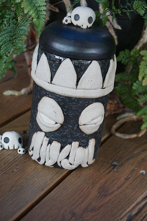 Cthulhu Stone Jar