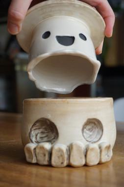 skull n' ghost butter bell