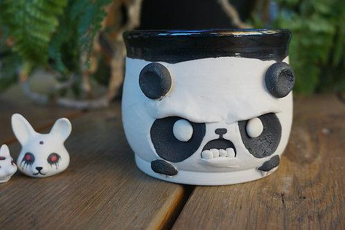Angry Panda mug No handle