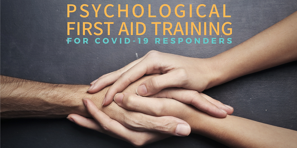 Psychological First Aid Training for Responders