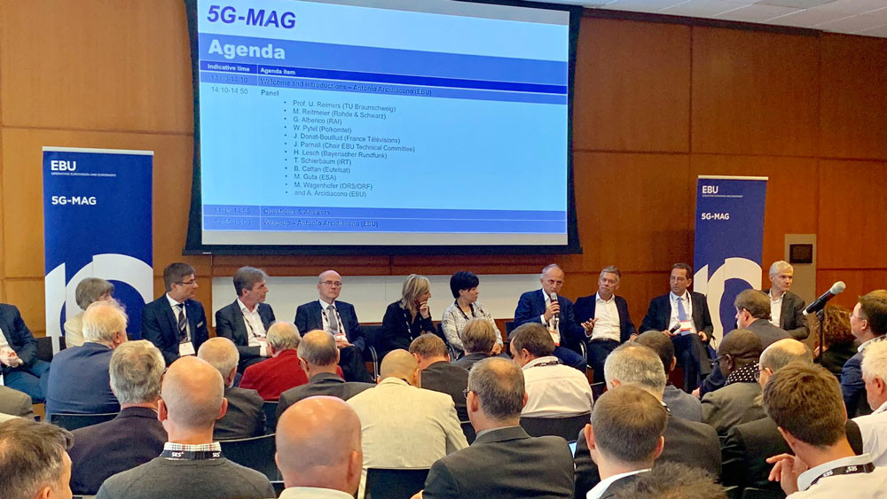 The launch of 5G-MAG during IBC2019
