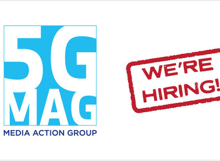 5G-MAG is hiring a Project Manager