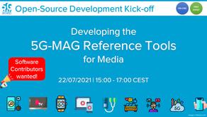 "22.07.2021 - Workshop ""5G-MAG Reference Tools"""