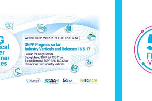 5/7.05.2020 - Industry Verticals Webinar & 5G Forum