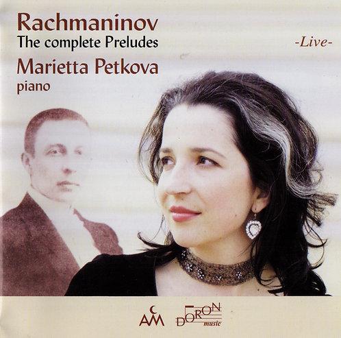 Rachmaninov 'The complete Preludes' - Live (2CD)
