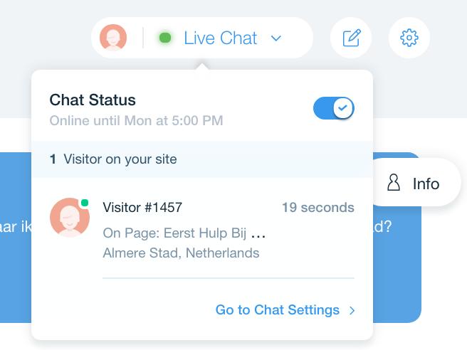Wix Chat | Eerste Hulp Bij Wix