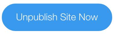 De publicatie van je Wix website ongedaan maken