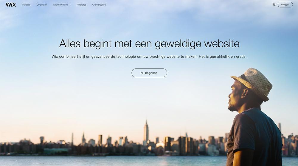 hulp wix website